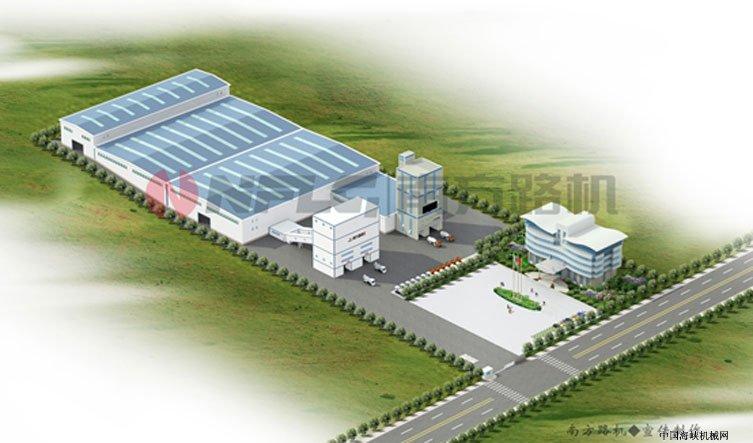 新建生产车间,原料库房,建筑垃圾破碎生产线以及相关配套设施,设计